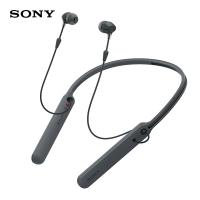 索尼(SONY)WI-C400(黑色)无线立体声耳机