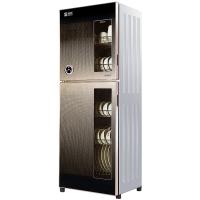 圣托(Shentop)餐具消毒柜家用立式 厨房红外线保洁柜 双门商用不锈钢高温消毒碗柜 ZTP280-F7