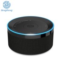 【京东智能音箱】 叮咚(DingDong)TOP 智能助手 语音控制 WIFI音箱 迷你音响 蓝牙音箱伴侣/音频输出 云音乐魔盒 尊贵黑