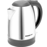奔腾(POVOS)电热水壶 304不锈钢 烧水壶 PK1709 1.7L电水壶 银色(S1759)