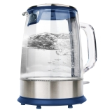 西摩(SMAL)电热水壶 玻璃烧水壶 LED白光  WK-0820C 1.5L电水壶