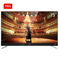 TCL 75C2 75英寸RGB真4K超高清 64位34核智能电视(黑色)