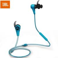 JBL Reflect BT 专业无线蓝牙运动耳机 线控可通话手机耳机 夜跑反光线 防脱落入耳式蓝牙耳机 蓝色
