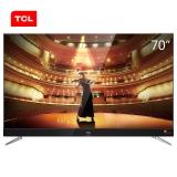 TCL 70C2 70英寸 RGB真4K超高清 64位34核智能电视(黑色)