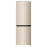 奥马(Homa) 176升 节能两门冰箱 快速制冷 大冷藏小冷冻 静音保鲜 家用 金色 BCD-176A7