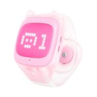 搜狗糖貓(teemo)兒童智能電話手表 basic GPS定位 粉色