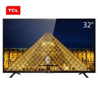 TCL L32F3301B 32英寸 窄边框蓝光LED液晶电视机(黑色)