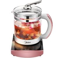 美的(Midea)养生壶 一机多用 多功能烧水壶煮茶壶 1.5L容量WGE1701b