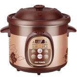 天際(TONZE)電燉鍋2L 紅陶內膽 養生煲湯DGD20-20ZWD