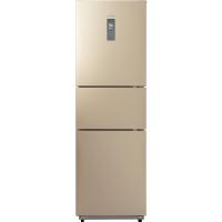 美的(Midea)226升 风冷无霜 电脑控温三门冰箱 中门24档调温 芙蓉金 BCD-226WTM(E)