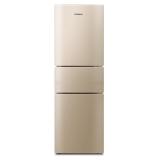 康佳(KONKA)232升 风冷无霜 三门冰箱 家用冰箱 电脑温控 (金色)BCD-232WEGX3S
