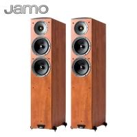 尊宝(Jamo)C605 音响 音箱 2.0声道木质无源家庭影院主/落地式/HIFI/高保真(暗苹果色)