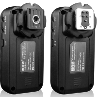 斯丹德(sidande) WFC-02C佳能相机专用 闪光灯引闪器 无线快门线 触发器 遥控器配件 (收发各一个)