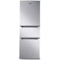 奥马(Homa) BCD-192DC 192升 家用节能 中门软冷冻 三门三温冰箱 经济实用 银色