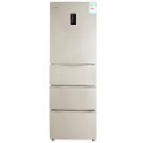 晶弘(KINGHOME)320升变频风冷意式四门冰箱 水离子除菌养鲜 格力晶弘 BCD-320WPQCL (金色)