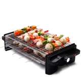 克来比(KLEBY)电烧烤炉 家用无烟电烤炉韩式电烤盘 双烤网 基础款 KLB9055