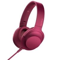 索尼(SONY)MDR-100AAP h.ear系列耳机 波尔多红
