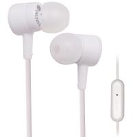 铁三角(Audio-technica)ATH-CKL220IS 入耳式线控带麦手机电脑耳机 白色