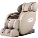 榮泰RONGTAI 6038按摩椅家用電動全身太空艙按摩椅主機 淺灰色