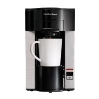 汉美驰(Hamilton Beach)咖啡机 美式免滤纸家用单杯滴漏式 49993-CN