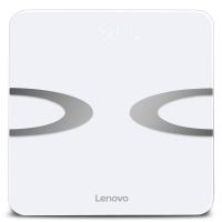 联想(lenovo)电子秤 体重秤 智能体脂秤 HS01 微信APP兼容 全包底机身(炫酷白)