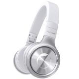先锋(Pioneer)SE-MX8-S 可折叠便携头戴 手机HIFI 强劲重低音 通话耳机 银色