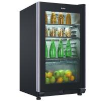 海尔(Haier) 102升 冰吧 茶叶柜 母婴冰箱 展示柜 饮料柜 雪茄柜 冷藏柜 商务冰箱 LC-102DC