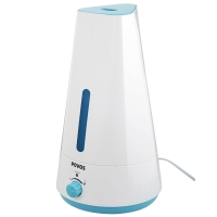 奔腾(POVOS)加湿器 1.5L容量 小三角  静音迷你办公室卧室客厅家用加湿 PW103 优雅蓝色