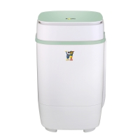 小鸭 3.5公斤迷你洗衣机 半自动单桶婴儿童小洗衣机 蓝光款 抹茶绿 XPB35-1708