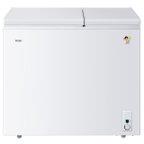 海爾(Haier) 178升 大冷凍小冷藏 雙箱雙溫區冰柜 臥式冰箱 家用商用二合一 冷柜 FCD-178XHT