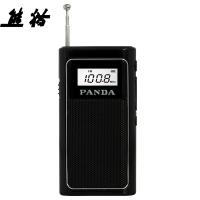 熊貓(PANDA)6200 迷你FM插卡收音機 MP3播放器 迷你小音響(黑色)