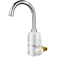 热恋(LoveLink)电热水龙头 冷热 厨卫两用小厨宝 大弯(侧进水)速热即热式电热水器 DF02