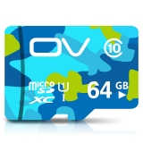 OV 64G Class10 80MB/S TF卡(Micro SD)手机内存卡平板监控摄像高速存储卡 迷彩