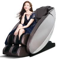 荣泰RONGTAI 7700按摩椅家用多功能电动太空舱按摩椅 咖啡色厂送