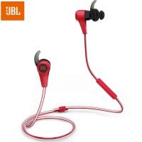 JBL Reflect BT 专业无线蓝牙运动耳机 线控可通话手机耳机 夜跑反光线 防脱落入耳式蓝牙耳机 红色