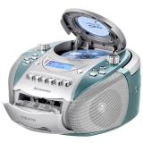 纽曼(Newsmy)DVD-M100状元版蓝色 英语学习机CD机磁带机复读机录音机卡带机DVD播放机胎教机收录机教学机U盘插卡手提音响