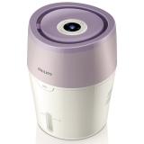 飞利浦(PHILIPS)加湿器 上加水 纳米无雾恒湿 静音办公室卧室家用加湿 HU4802/00(白色+浅紫色)