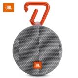 JBL Clip2 音乐盒2 蓝牙便携音箱 音响 户外迷你小音响 音箱 防水设计 高保真无噪声通话 灰色