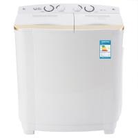 威力(WEILI)8.2公斤半自动双缸洗衣机 双层加厚箱体 四旋钮控制操作 XPB82-8207S