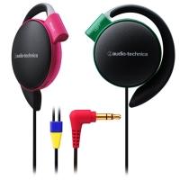 铁三角(audio-technica)ATH-EQ500 轻量便携 时尚运动 舒适挂耳式耳机 狂热