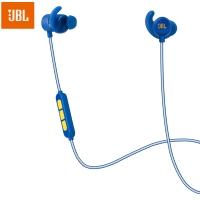 JBL Reflect Mini BT 专业无线蓝牙运动耳机 带耳麦线控可通话 入耳式手机耳机 库里限量版 蓝色