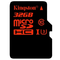 金士顿(Kingston)32GB 90MB/s TF(Micro SD)Class10 UHS-I高速存储卡 中国红
