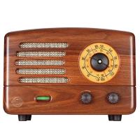 猫王(MAOKING)典藏级收音机蓝牙音箱蓝牙音响 胡桃木版