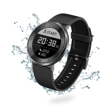 荣耀手表S1 深空灰 黑色长腕带(时尚智能穿戴手表手环 运动心率监测 50米游泳防水 跑步指导 睡眠监测)