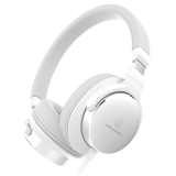 铁三角 (audio-technica) ATH-SR5 便携头戴式HiFi耳机 高解析音质 白色