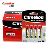 飞狮(Camelion)碱性电池 干电池 LR6/AA/5号 电池 48节 鼠标/血压计/血糖仪/玩具/相机/指纹锁/话筒