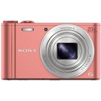 索尼(SONY) DSC-WX350 数码相机 粉色(1820万有效像素 20倍光学变焦 25mm广角 Wi-Fi遥控拍摄)