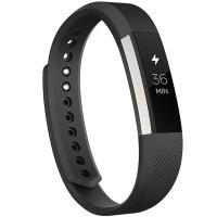 Fitbit Alta 智能健身手环 自动睡眠记录 来电显示 运动蓝牙手表计步器 经典款 黑色 大号