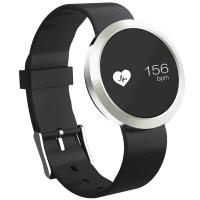 Fitband F4智能手环运动心率监测运动计步心率睡眠监测来电提醒深灰银