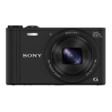 索尼(SONY) DSC-WX350 数码相机 黑色(1820万有效像素 20倍光学变焦 25mm广角 Wi-Fi遥控拍摄)